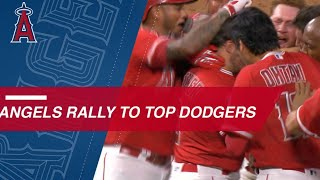Angels stun the Dodgers with walk-off win in the 9th