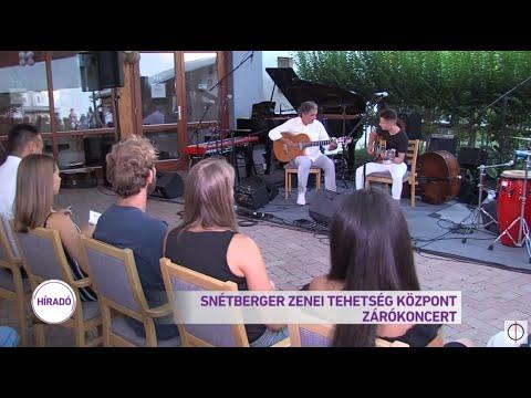 Snétberger Zenei Tehetség Központ zárókoncert
