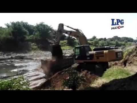 Inicia limpieza de afluentes de río Grande de San Miguel