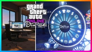 GTA 5 Online The Diamond Casino & Resort DLC Update - NEW DETAILS! VIP Penthouses, Garages & MORE!