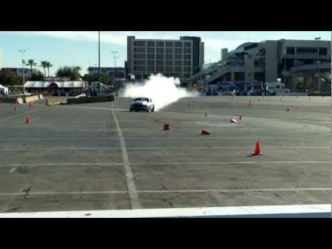 COBRA JET Race car Burnouts/ launch at SEMA