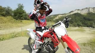 MOTOCROSS TEST TEAM: PROVA HONDA CRF 250 E CRF 450 2012