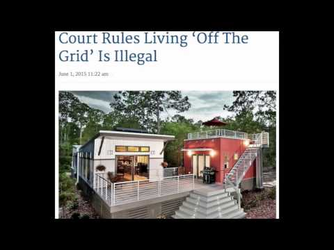"""Florida Court Rules """"Off Grid"""" Living Illegal"""