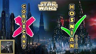 Star Wars: Warum war Hosnian Prime der Hauptsitz der Neuen Republik und nicht Coruscant?