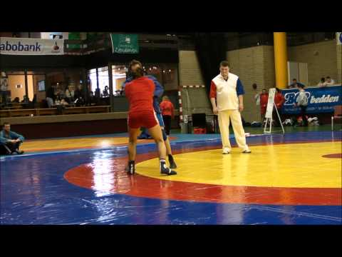 Reilly Bodycomb: 2011 Dutch Sambo Open Championships 68kg - All Matches Image 1