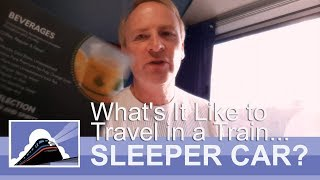 What's it Like to Travel In an Amtrak Sleeper Car?