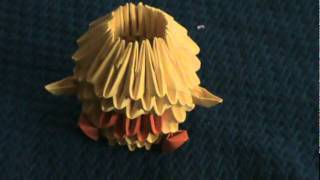 3d Origami Baby Duck/chicken