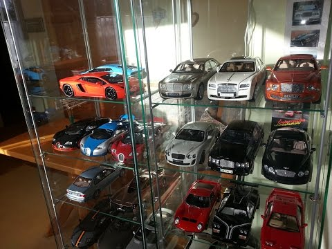 BMW, Bugatti, Bentley, Ferrari, Lamborghini etc. my collection 1:18 diecast PART 1