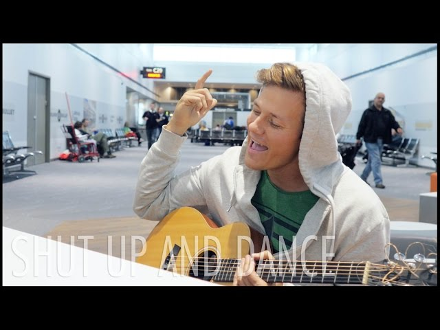 Shut Up and Dance - Walk The Moon Tyler Ward Acoustic Cover Music Video With Me