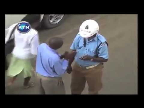 Surveillance camera brings glory to Traffic Police officer who rejected bribe
