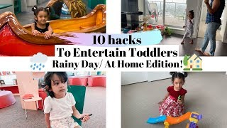 FUN activities for Toddlers   How To Entertain Toddlers   RAINY DAY Activities For Toddlers