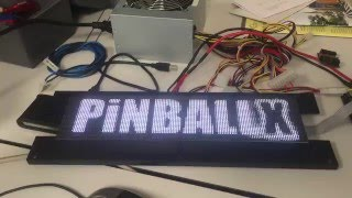 PIN2DMD and PinballX with full color DMD video support