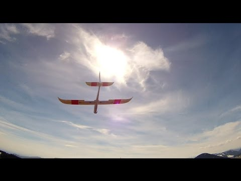Phoenix 1600 [hobbyking] - second time at the slope / zweiter Hangflug [HD]