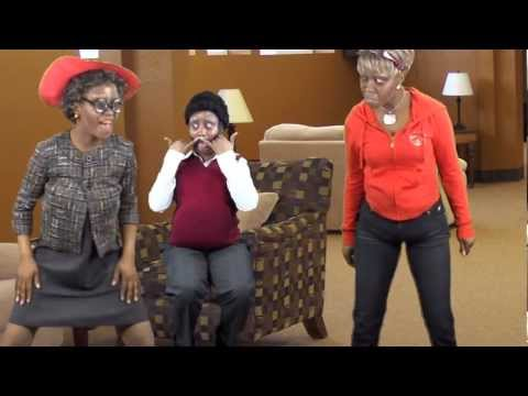 Granny Wearing Apple Bottoms  Dance Off (drake- Starting From The Bottom Parody) A Must Watch!!! video