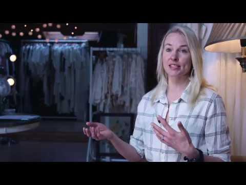 Fashion Designer Minna Hepburn Makes Bridal Dress Eco-Friendly