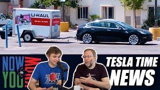 Tesla Time News - FCA to Give Tesla $2 Billion & Model 3 Gets a Tow Hitch
