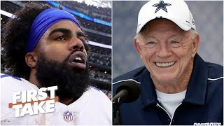 Cowboys will 'blink first' and pay Ezekiel Elliott - Max Kellerman | First Take