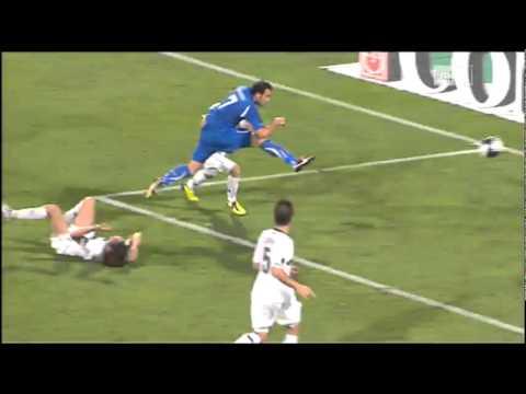 Giampaolo Pazzini vs Slovenia
