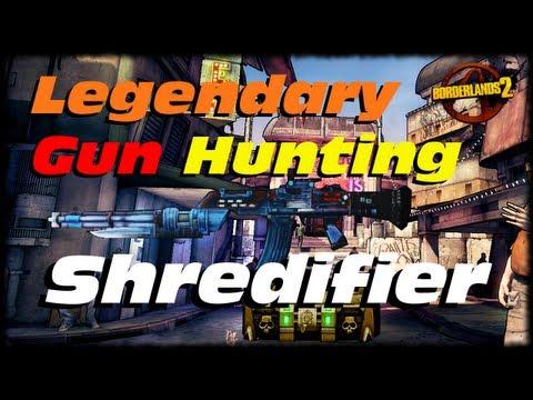 Borderlands 2 Legendary Weapon Guide The Shredifier! Legendary Vladof Assault Rifle! (1080p)