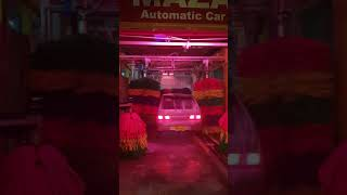 Automatic car wash at sukkur