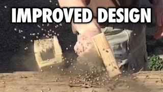 Wooden mallet explosion!