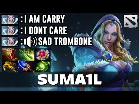 Suma1L Crystal Maiden CARRY Dota 2