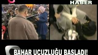 MARKA AYAKKABILAR UCUZA SATILINCA... FLASH HABER FLASH TV SEÇİL GÖNENDEN