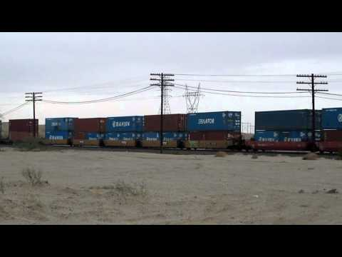 Union Pacific action near Yuma, AZ