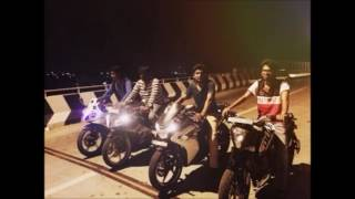 Delhi Bike racing accident.
