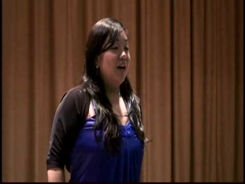 Mutya ng Pasig by Tracy Sarmiento in USA, soprano, opera singer