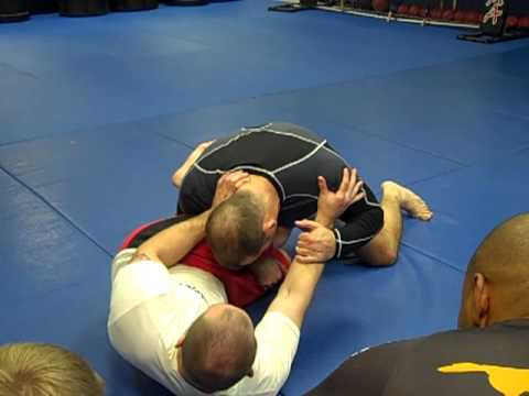 MMA Techniques: How to stand up from half guard Image 1