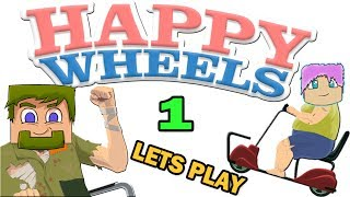 ч.01 Happy Wheels - Это же Динозавр!