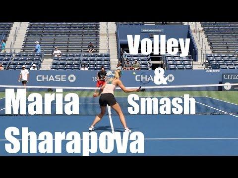 Maria Sharapova Volley & Smash @ US Open 2015