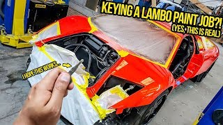 I KEYED My Fast & Furious Lambo's Paint Job To Prove It Was SCRATCH-PROOF