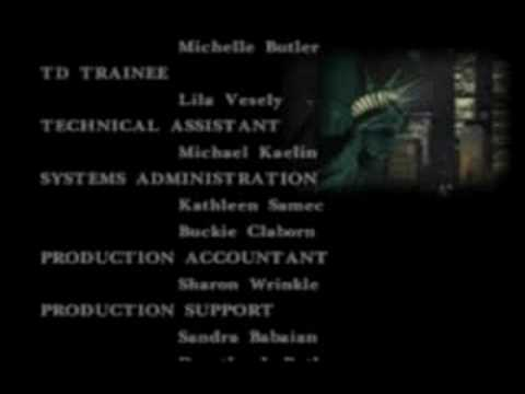 Parasite Eve - Secret Ending Credits