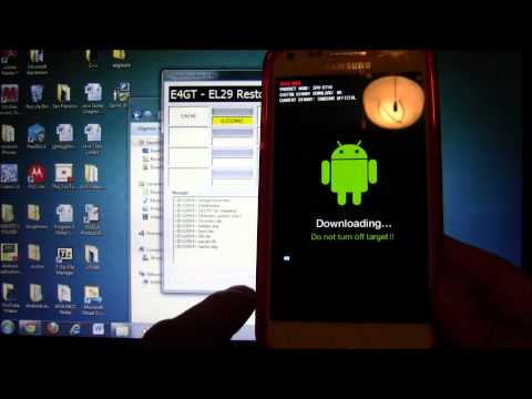 How to Root Samsung Galaxy S2, Epic 4G Touch (EL29)