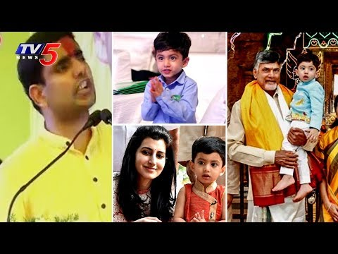 Minister Nara Lokesh Funny Comments on His Son Devansh and CM Chandrababu | Srikakulam | TV5 News
