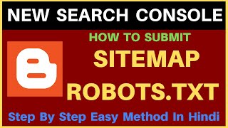 Part -6 | How to Generate and Submit Sitemap and Robots.txt to Google WebMaster search Console 2019