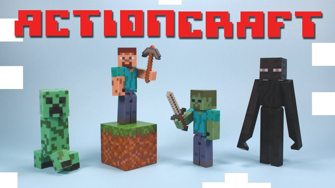 Minecraft Action Toys Minecraft Action Figure Toys