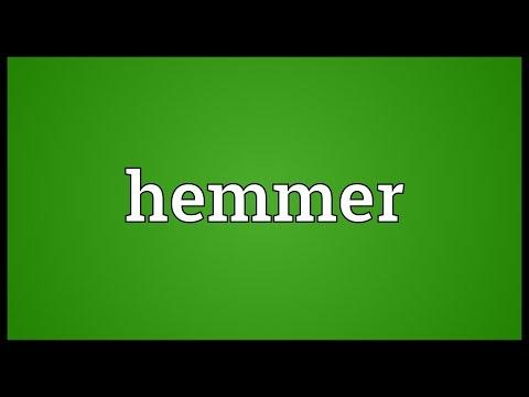 Header of hemmer