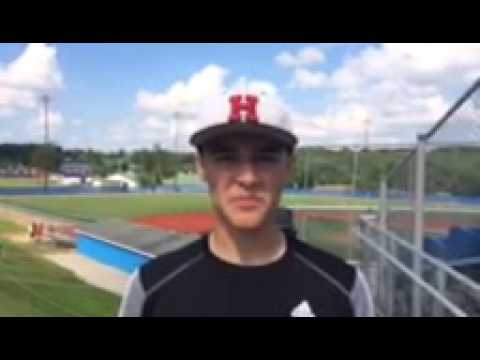 Brandt Miller - Hiland Hawks Baseball Post-Game Interview