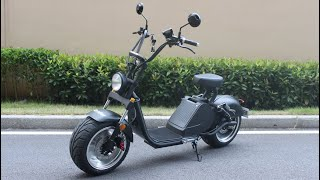 Citycoco caigiees Rooder harley electric scooter with EEC COC VIN Street legal license scooter