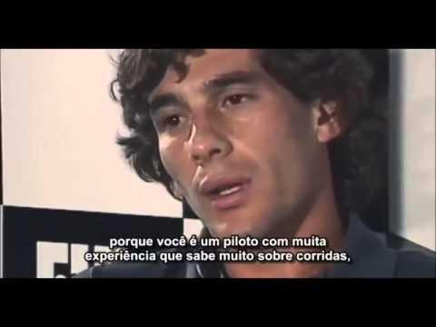 Ayrton Senna E Jackie Stewart Discutem Em Entrevista