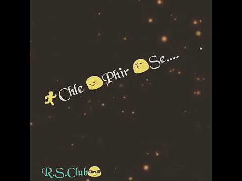 Roothi hui girlfriend ko manane ke liye wtsapp video song