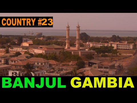 A Tourist's Guide to Banjul/Bakau, The Gambia.   www.theredquest.com