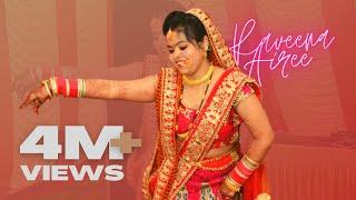 Uttarakhand's Wedding Dance Performance | Raveena Airee | Morni Baga Ma Bole, Palki Me Hoke Sawaar