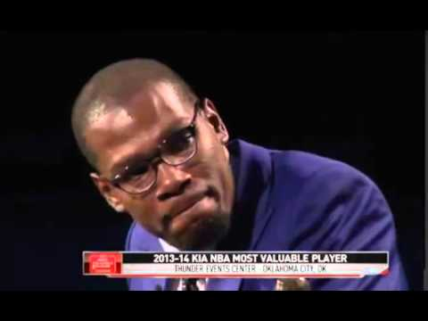 Kevin Durant MVP Press Conference (FULL SPEECH) 2014
