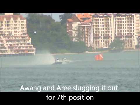 Round 2 of 2014 - Feature Race - Negeri Sembilan International F3000 Powerboat Championship