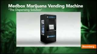 Marijuana Vending Machines, Pot Brownie Included at Medbox  5/13/13