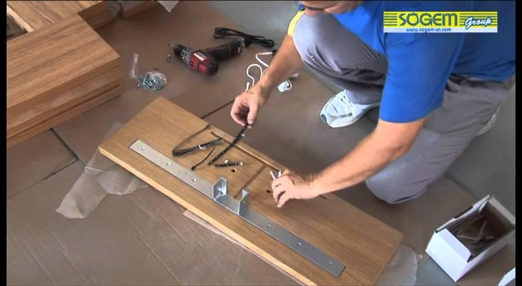 Montage d 39 un escalier design en kit kalea droit sogem youtube - Installation d un escalier ...